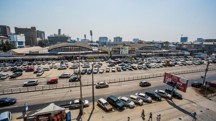 Быстрее за покупками: парковку у Центрального рынка сделают платной