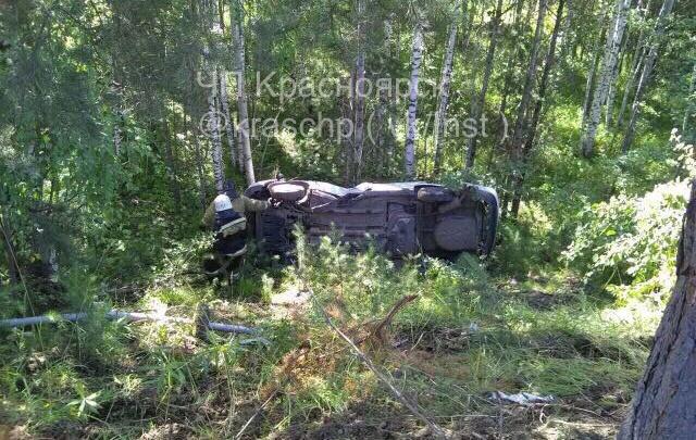 Ремонтирующие трассу рабочие обнаружили в кювете Nissan с погибшим водителем