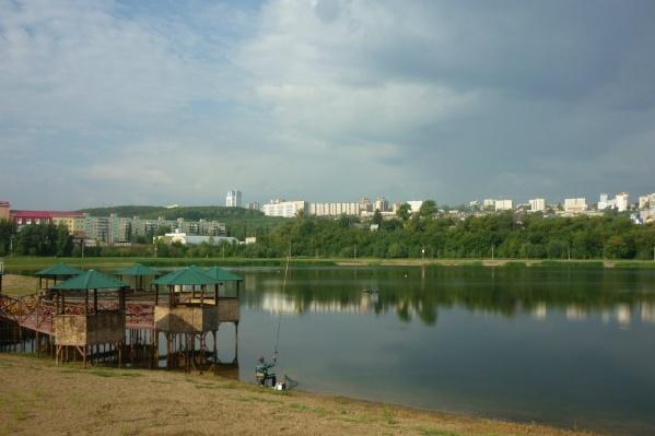 Сейчас основное место притяжения — озеро
