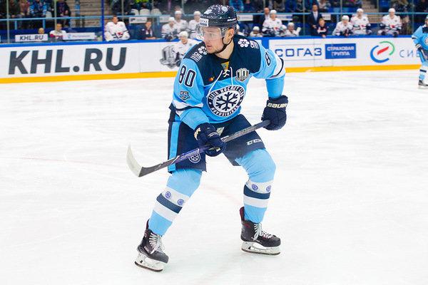 Хоккей: «Сибирь» расторгла контракт с Игорем Левицким