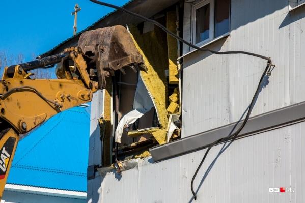 Самару активно зачищают от малоэтажного жилья
