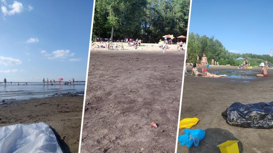 Волга уходит с пляжа? Жители Самары пожаловались на обмеление реки