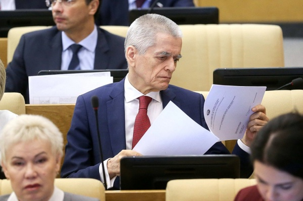 Геннадий Онищенко за установку проходных баллов по гендерному признаку