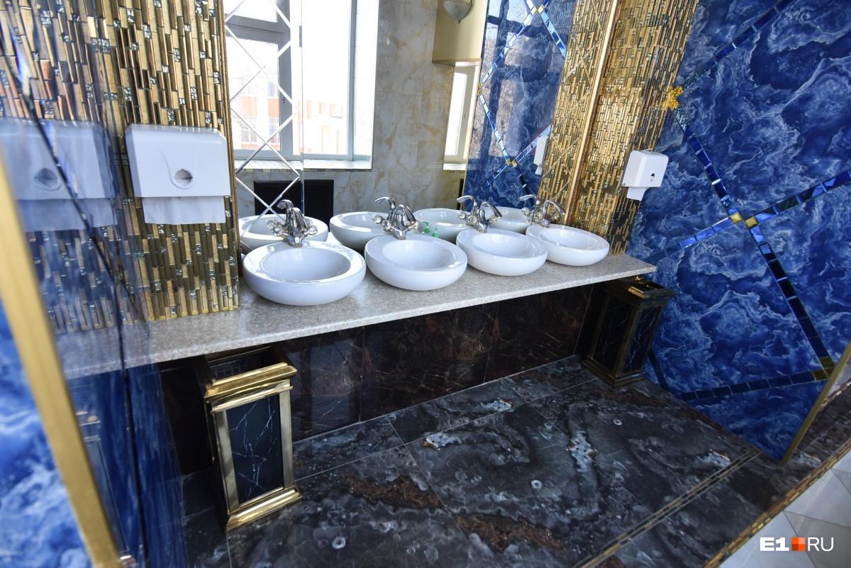 А это туалет: красота же!