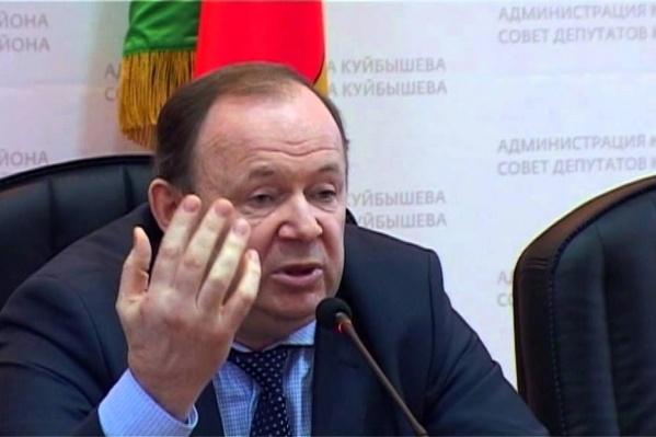 Владимир Лаптев стал членом Совета Федерации в 2015 году