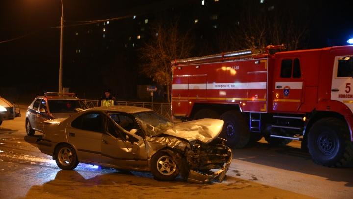 В ГИБДД рассказали подробности вечерней аварии на Георгия Колонды