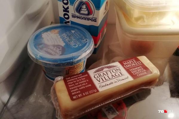 Санкционный сыр можно было купить прямо в продуктовом магазине