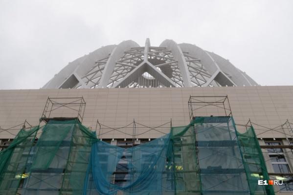 Фасад цирка после ремонта
