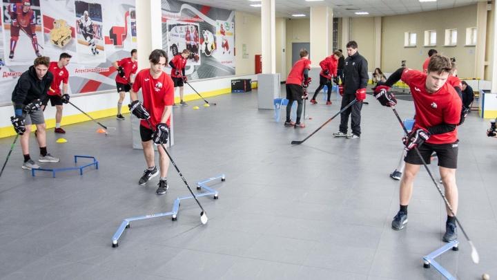 10 миллионов — в будущую элиту хоккея: в школе «Трактор» открылись новые залы специальной подготовки
