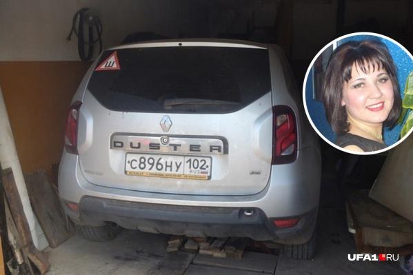 Машину нашли в гараже отца Луизы