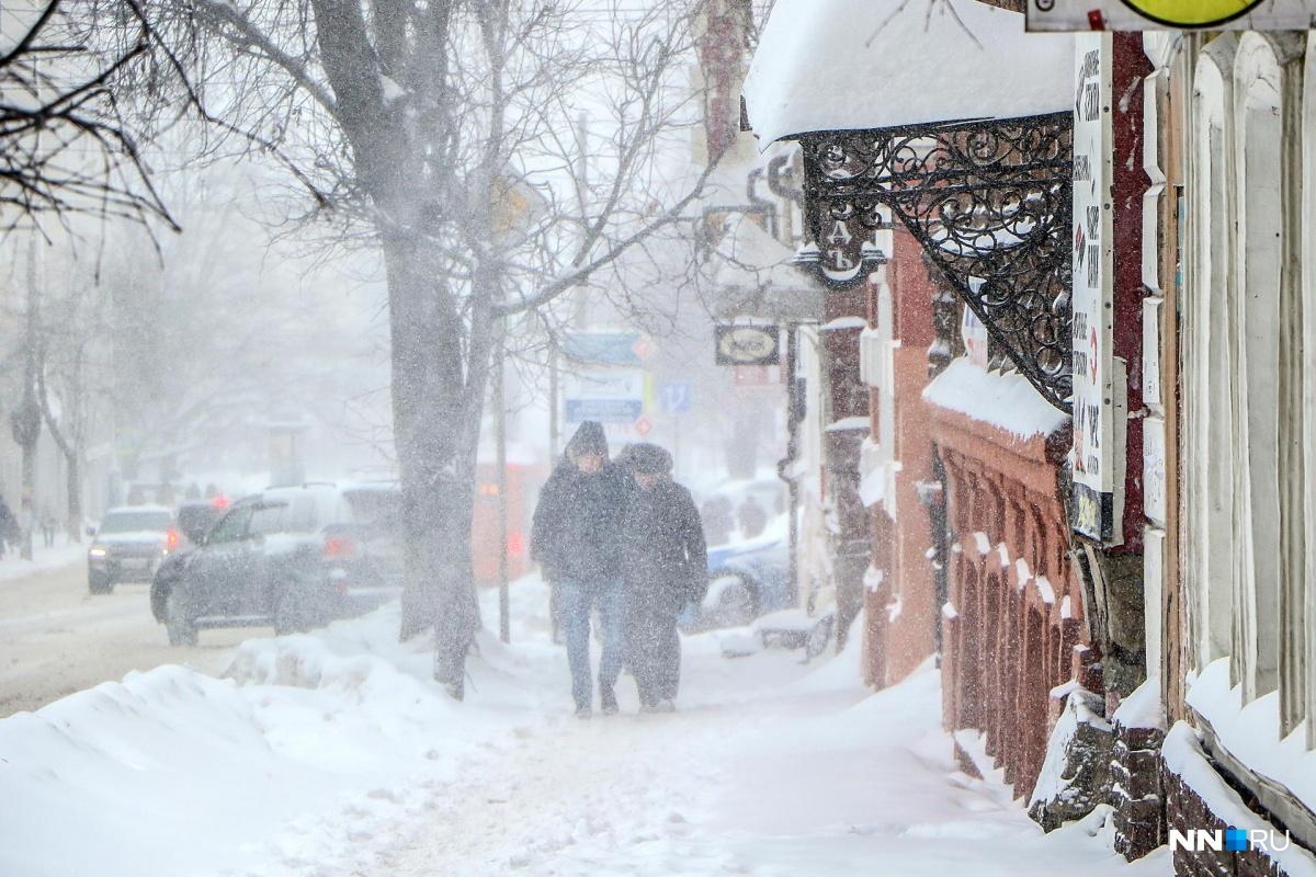 В понедельник зима снова вернется в город