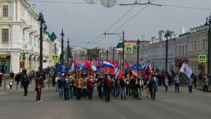 В Омске перекроют несколько центральных улиц из-за митинга и велосипедистов