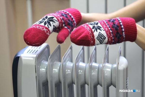 Тепло начнут подавать в дома красноярцев на следующей неделе