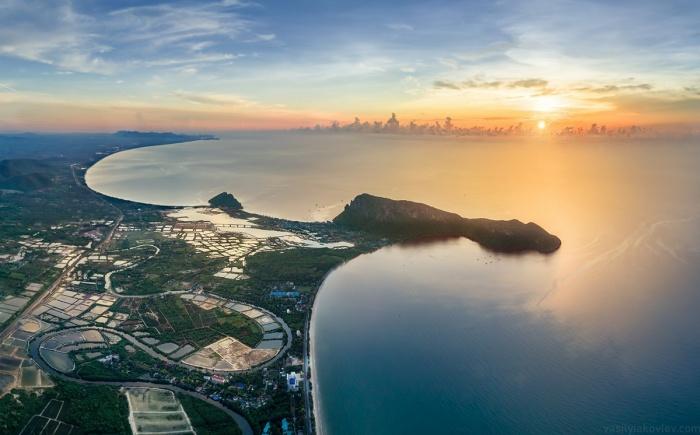 Закаты в Таиланде завораживающие