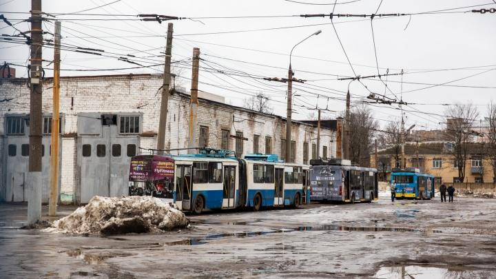 Готовят митинг: ярославцы потребовали сохранить троллейбус в Брагино