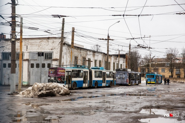 Троллейбусное депо на улице Городской вал готовят к переезду в Брагино