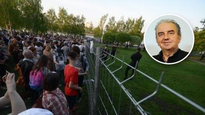 Владимир Шахрин — о битве за сквер: «Жители Екатеринбурга стали жертвой манипуляторов»