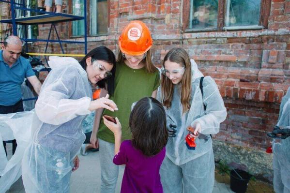 Восстановить любимый город — всей семьей