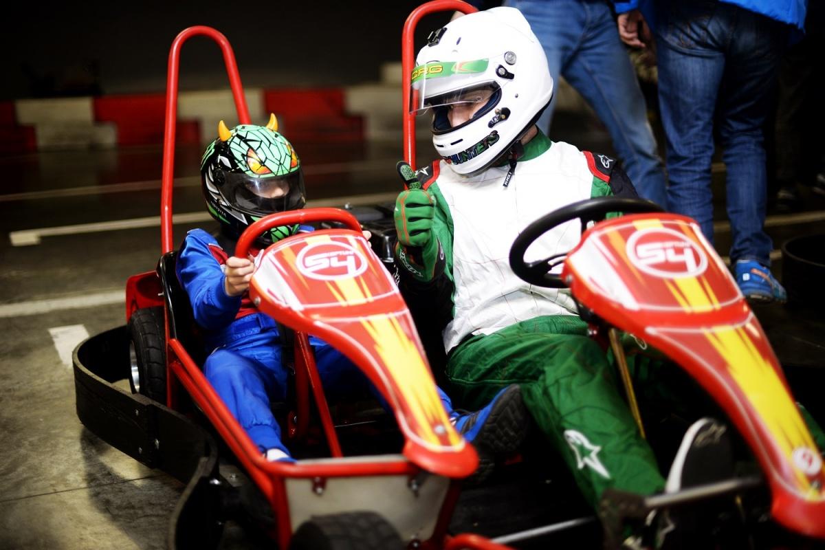Особенные дети поучаствовали в гонке с чемпионами