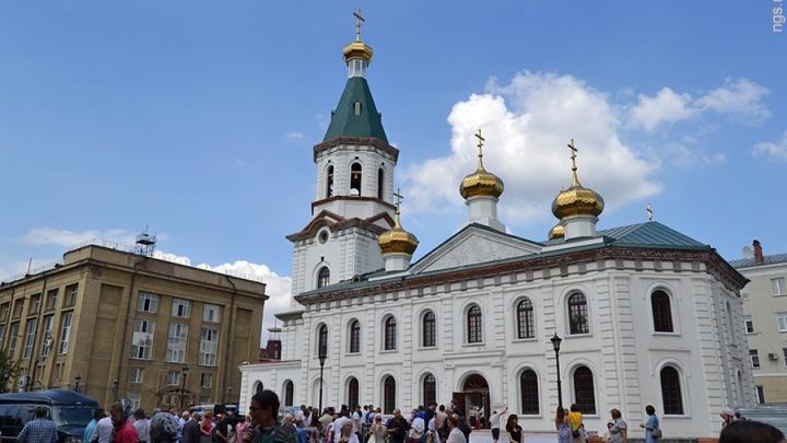 В продаже по всей стране появятся марки с омским Воскресенским собором