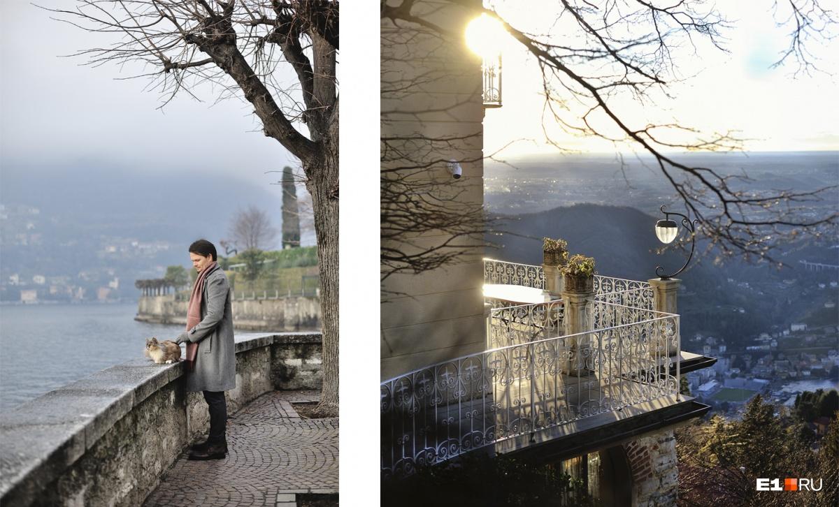 Несмотря на большое количество туристов, Торно — один из самых спокойных городков на озере