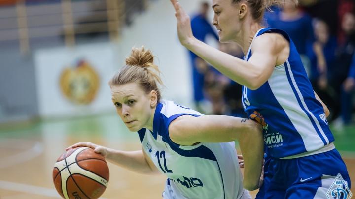 Снова победа: БК «Динамо» из Новосибирска выиграл третий раз подряд