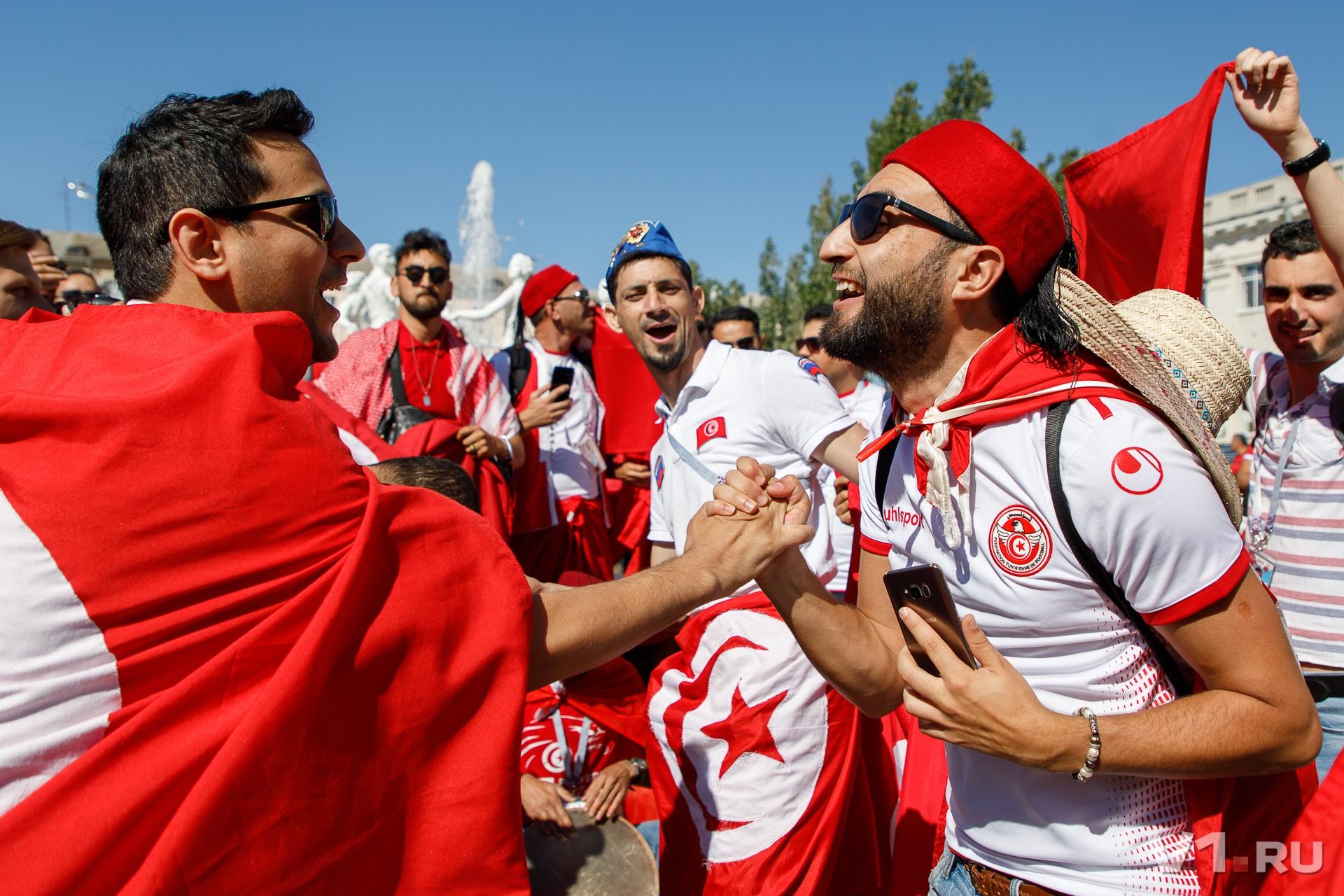 Гости из Туниса приехали в Волгоград в предвкушении зрелищной игры