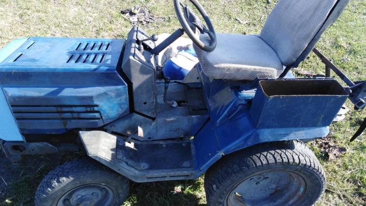 В Зауралье в ДТП с трактором погиб ребенок. Водитель был пьян.