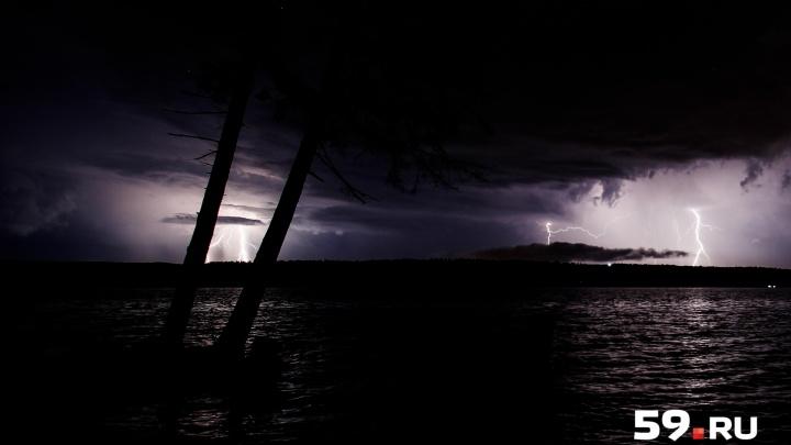Грозы и крупный град: МЧС предупредило прикамцев об ухудшении погоды