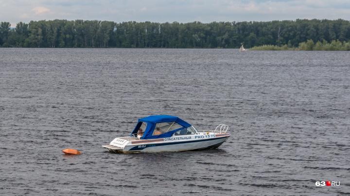 На Волге столкнулись катер и резиновая лодка