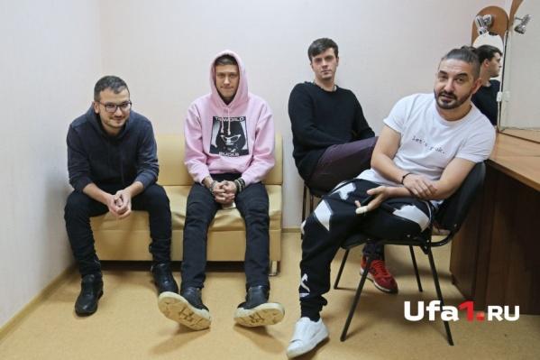Слева направо: Дмитрий, Антон, Арсений и Сергей