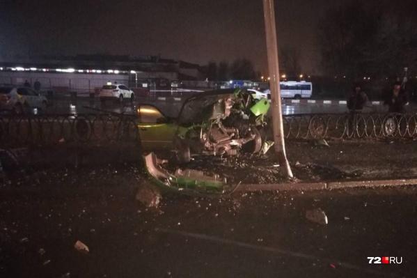 Водитель, севший за руль в состоянии алкогольного опьянения, выжил, а его пассажирка погибла
