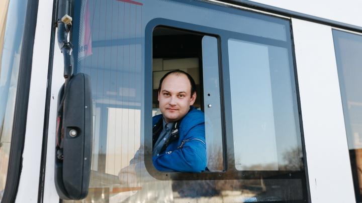 Самарец рассказал, как нашел свое призвание за рулем городского автобуса