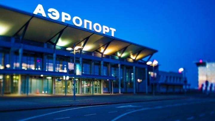 В Томске неудачно сел самолет, прилетевший из Екатеринбурга. Работа аэропорта парализована