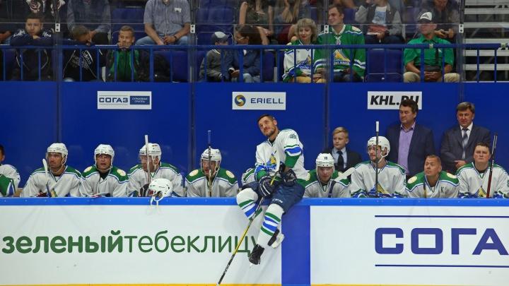 Два игрока «Салавата Юлаева» покинули расположение сборной России