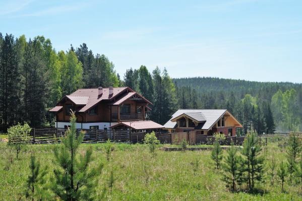 Все дома в «Раскуихе» будут выполнены в стиле альпийского шале