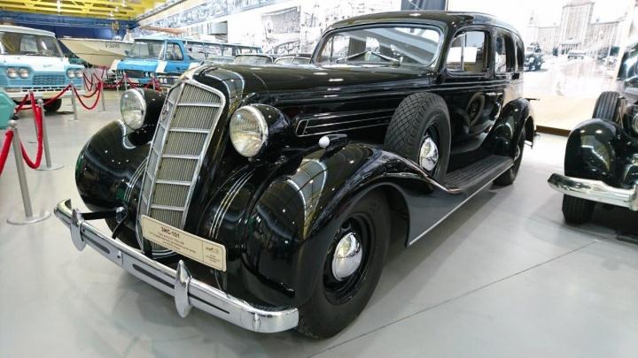 В музее УГМК появился первый серийный советский лимузин