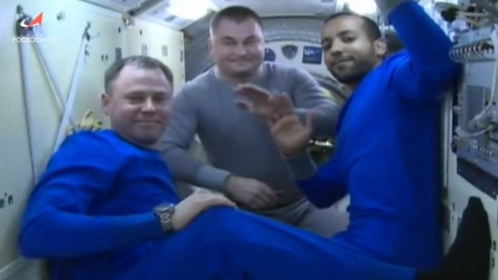 «Союз МС-12» с космонавтом из Ярославской области приземлился в степи Казахстана