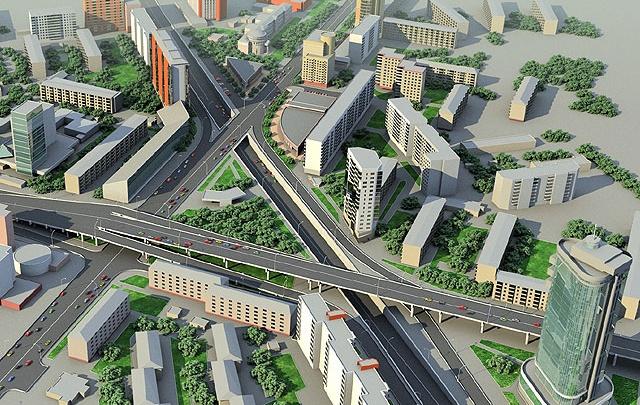 В Челябинске вернулись к идее строительства развязки на Курчатова — Блюхера