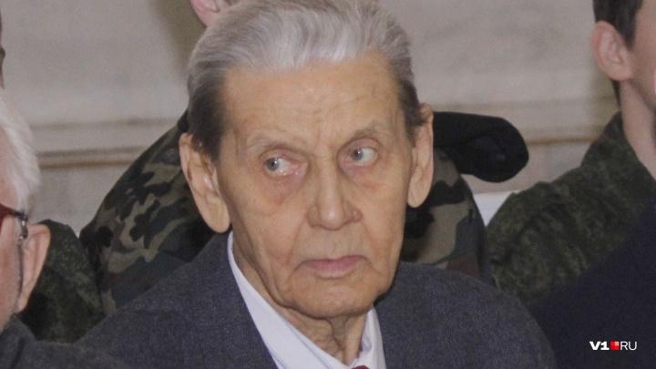 В Волгограде умер участник Сталинградской битвы с орденом Славы Ростислав Ильин