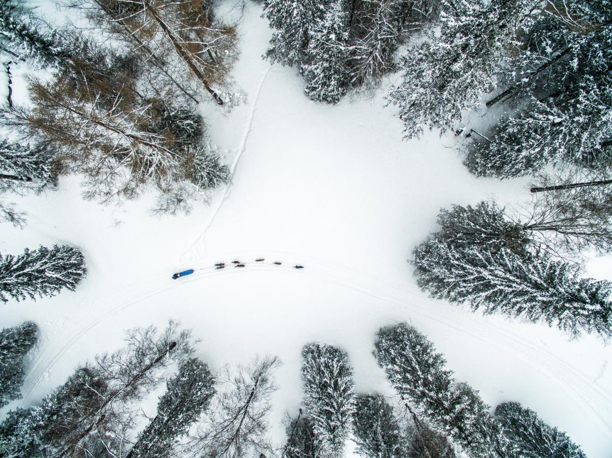 Съёмка с дрона расширяет границы