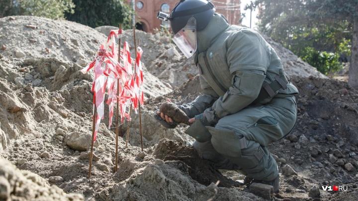 «В этот раз обошлось»: саперы ЮВО спасли строящийся в центре Волгограда храм
