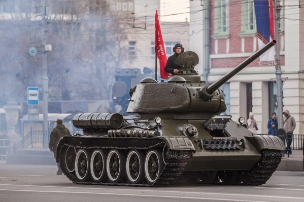 Празднования Дня Победы начнутся 8 мая