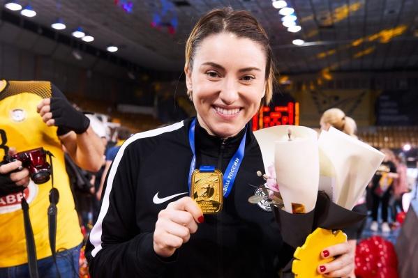 Виктория Борщенко играет за сборную Украины