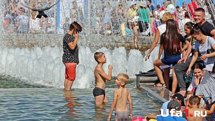 Выходные будут жаркими: В Башкирии до 33°C