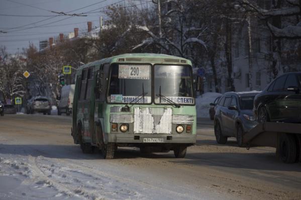 В прошлом году по вине водителей автобусов зафиксировано 204 ДТП