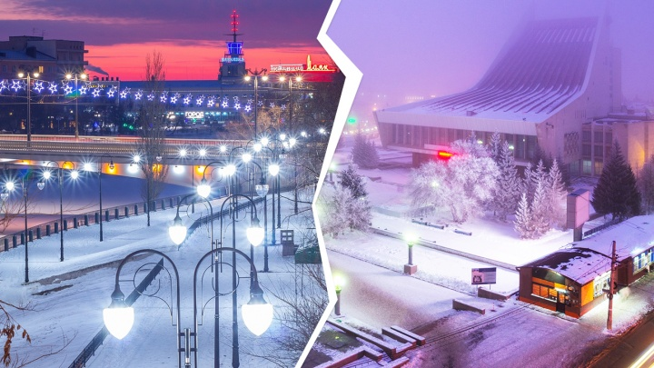 Завораживающие закаты, туман и огни ночного Омска: третий тур баттла омских фотографов