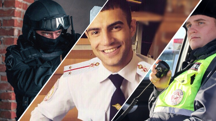 Вам захочется, чтобы они вас арестовали. Выбираем лучшего из 8 самых красивых полицейских Тюмени