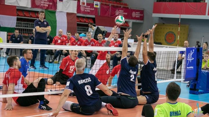 В команде десять уральцев: сборная России по волейболу сидя стала чемпионом Европы