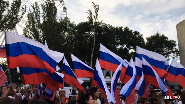 Языческие песнопения и самодельные дроны: как в Ростове праздновали День России